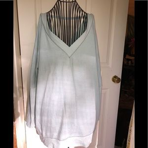 Gently worn Anthropologie Sweater tunic